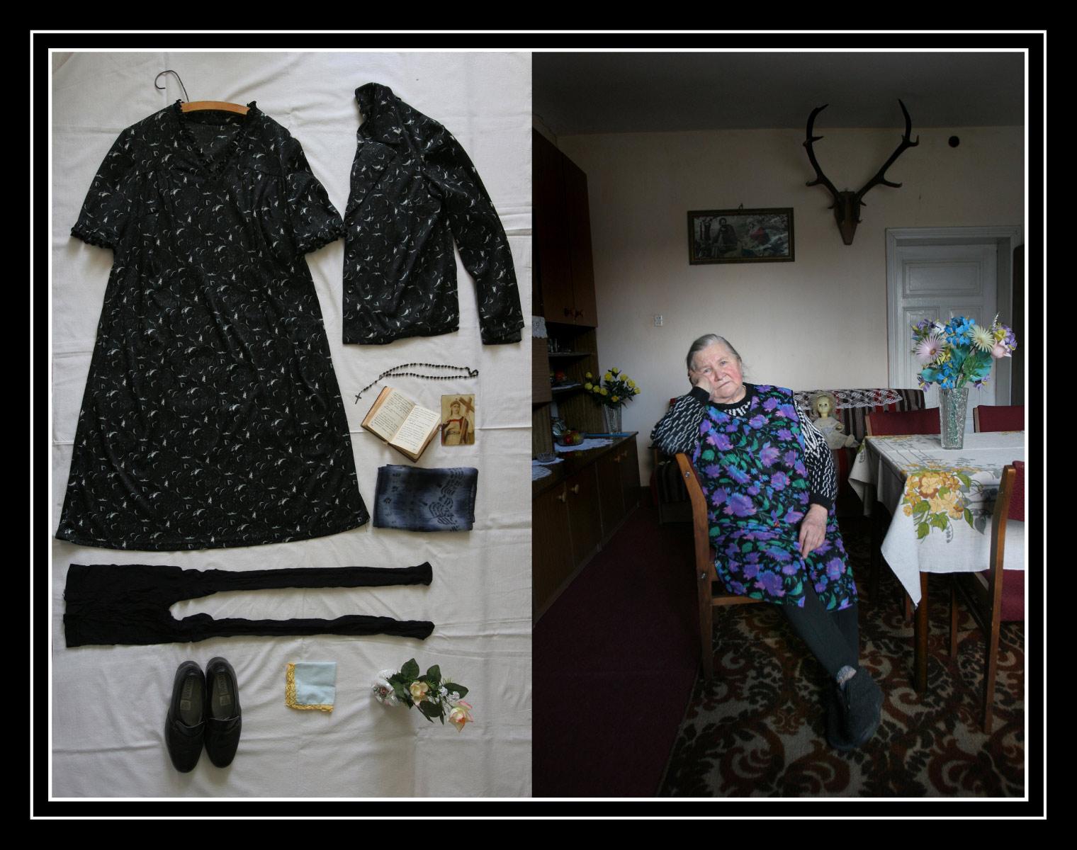 Clothes for death - Documentary photographer Anna Bedyńska