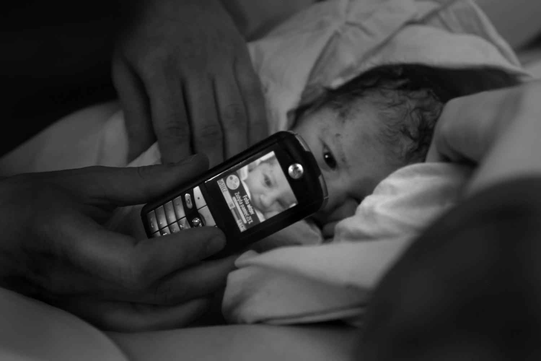 Dad in action - Documentary photographer Anna Bedyńska