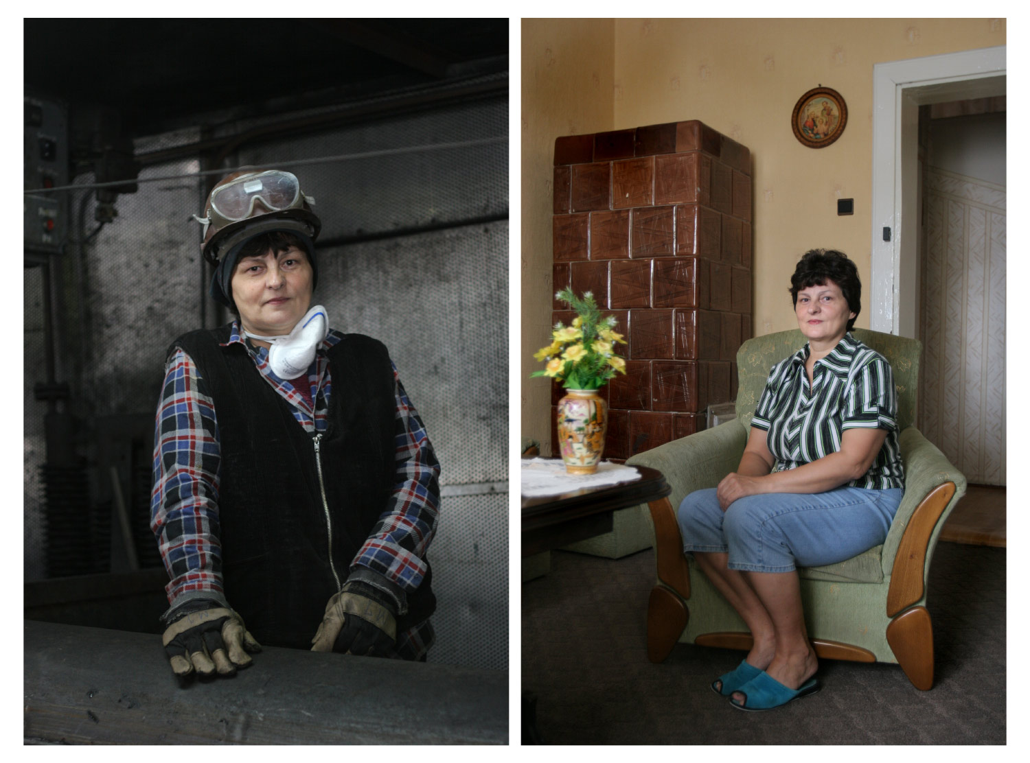 Women miners - Documentary photographer Anna Bedyńska