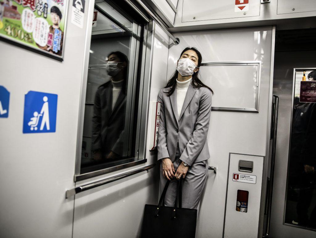 Tokyo -March-2020 -coronavirus in Town  photo: Anna Bedynska anna.bedynska@gmail.com  www.annaabedynska.pl
